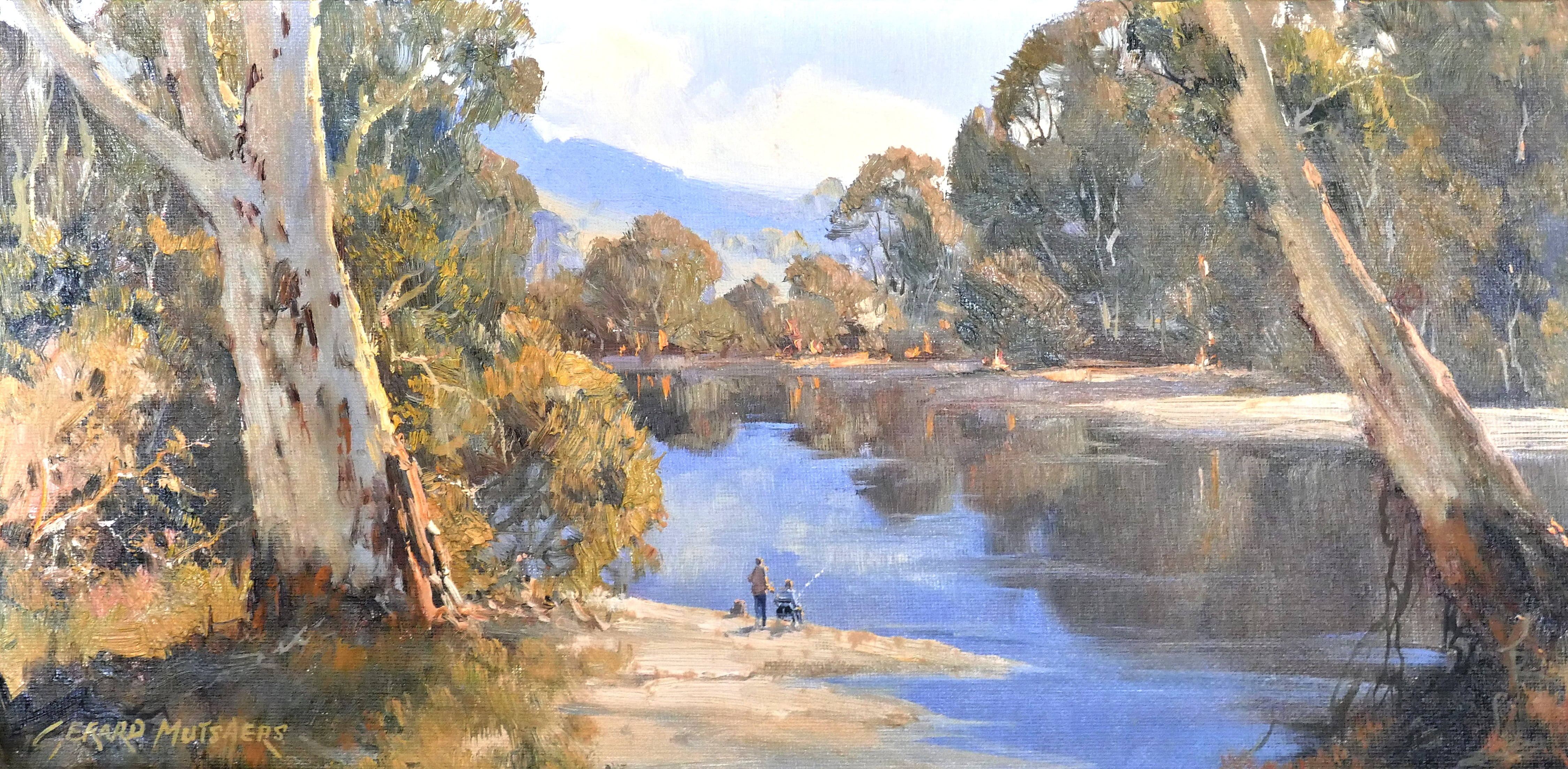 39. Fishing at the Nulla Nulla Waterhole